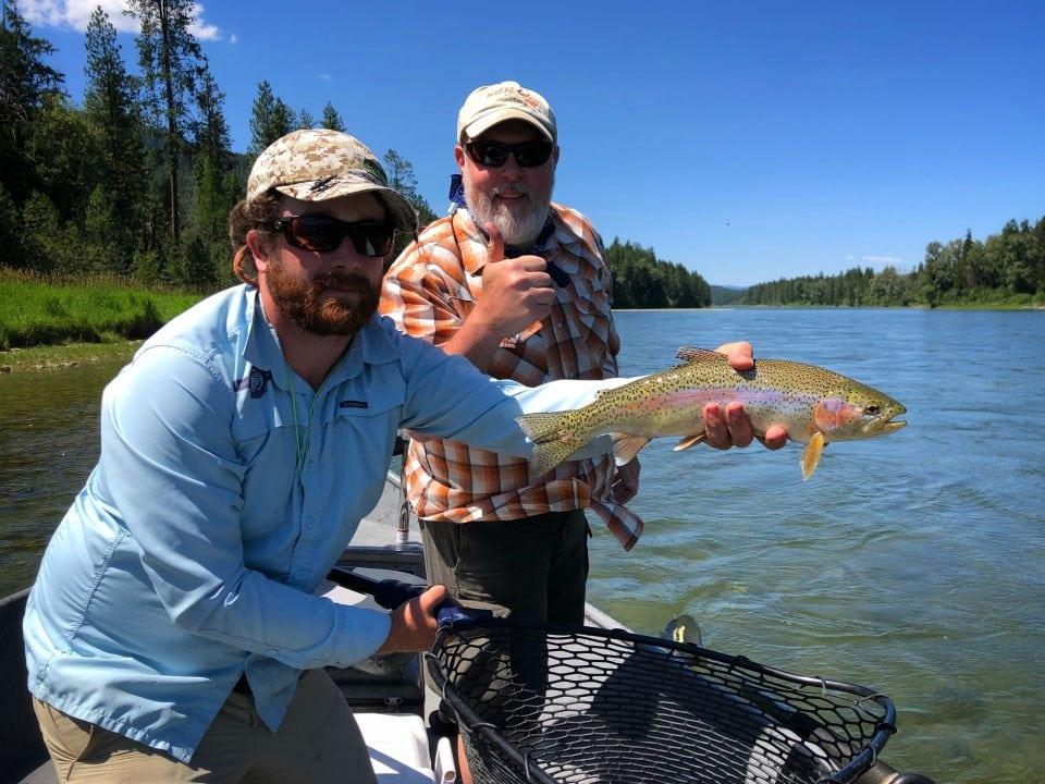 Kootenai River Guided Fly Fishing